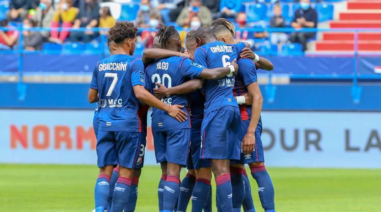 Caen, Yacine Bammou ile kazandı (ÖZET)