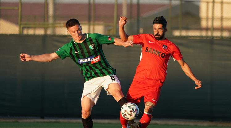 Düelloda kazanan Gaziantep FK
