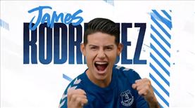 Everton, James'i transfer etti