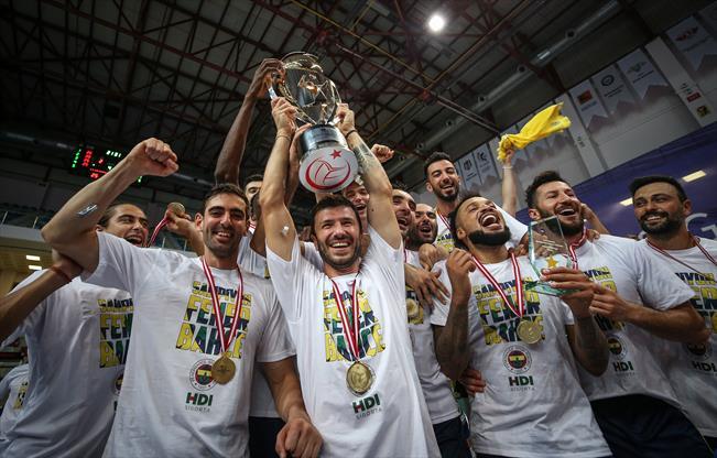 Şampiyonlar Kupası Fenerbahçe HDI Sigorta'nın