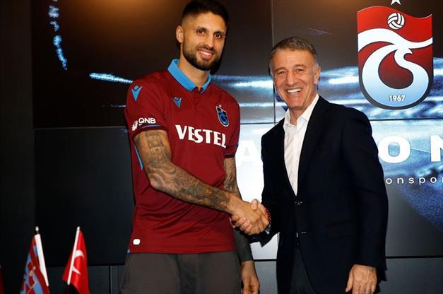 Trabzonspor'da Da Costa ile yollar ayrıldı