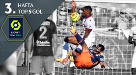 Ligue 1'de haftanın en güzel 5 golü