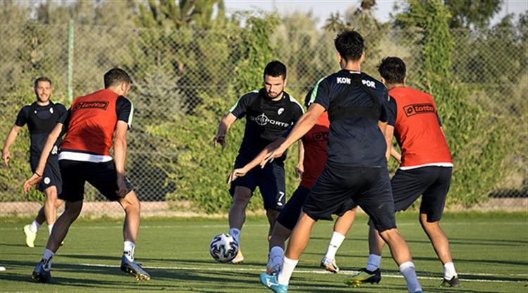 Konyaspor'da Gençlerbirliği maçı hazırlıkları