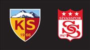 Kayserispor ve Sivasspor ölen taraftarları andı