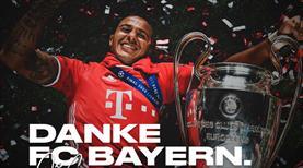 Alcantara'dan Bayern'e veda mektubu