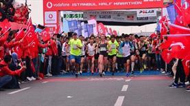 Vodafone İstanbul Yarı Maratonu yarın yapılacak