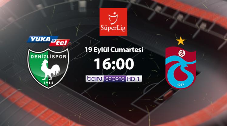 Y. Denizlispor - Trabzonspor (CANLI)