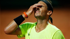Nadal, Roma Açık'a veda etti