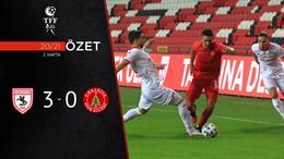 ÖZET | Yılport Samsunspor 3-0 Ümraniyespor