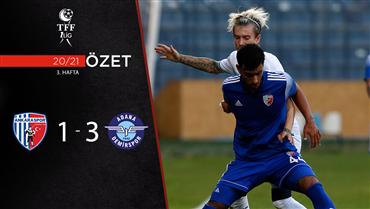 ÖZET   Ankaraspor 1-3 A. Demirspor