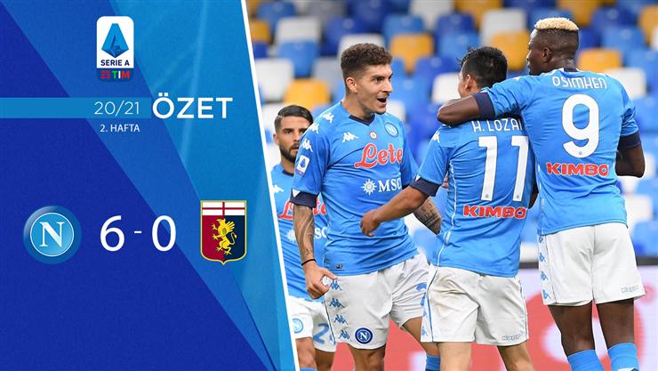ÖZET | Napoli 6-0 Genoa