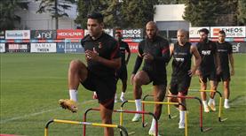 Galatasaray'ın kamp kadrosu netleşti