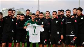 Konyaspor'dan top toplayıcıya ödül