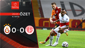 ÖZET | Galatasaray 0-0 FTA Antalyaspor