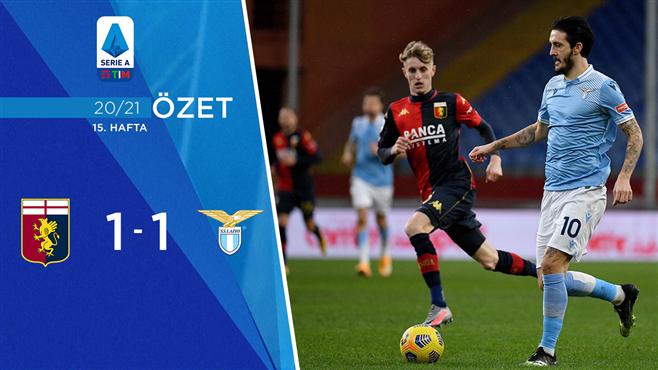 ÖZET | Genoa 1-1 Lazio
