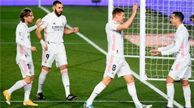 Real Madrid evinde zorlanmadı