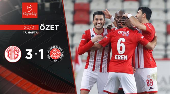 ÖZET | FTA Antalyaspor 3-1 Fatih Karagümrük