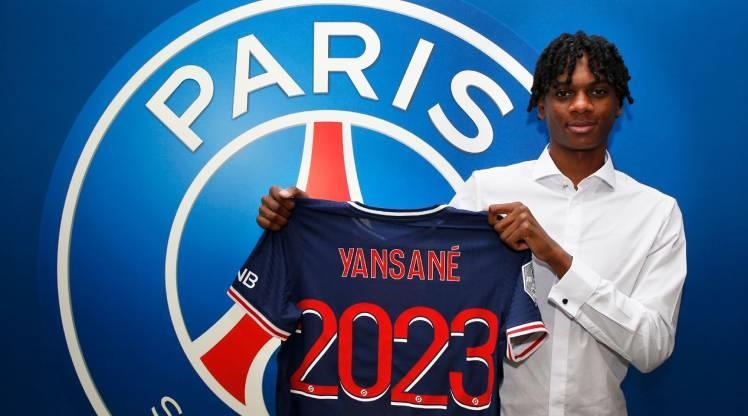 PSG'ye genç golcü