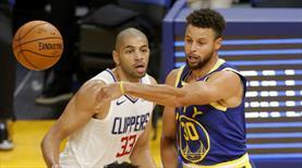Curry yıldızlaştı, Golden State kazandı