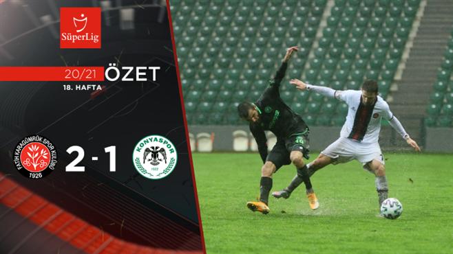 ÖZET | F. Karagümrük 2-1 İH Konyaspor
