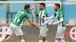 İH Konyaspor, Cikalleshi'nin golüyle umutlandı