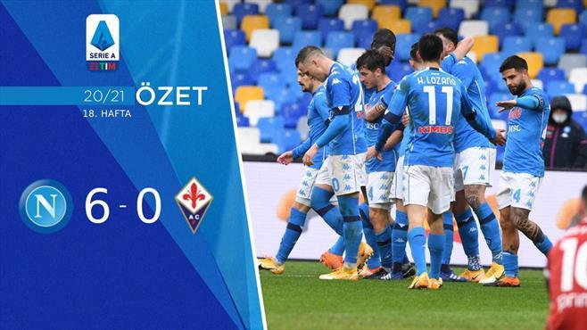 ÖZET | Napoli 6-0 Fiorentina