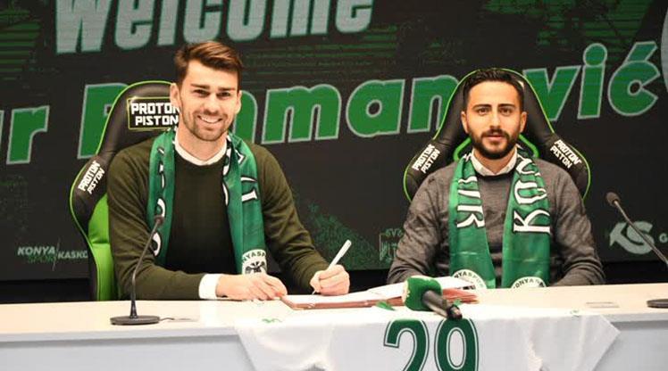 Konyaspor'a Boşnak 10 numara