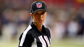 Sarah Thomas, NFL tarihine geçecek