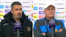 A. Alanyaspor - MKE Ankaragücü maçının ardından