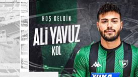 Yukatel Denizlispor, Ali Yavuz Kol'u kiraladı