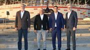 Antalyaspor'da Öztürk ailesi için veda töreni