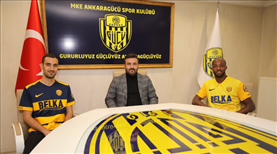 MKE Ankaragücü'nde iki transfer birden