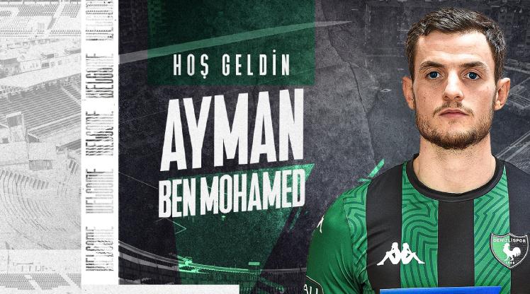 Y. Denizlispor, Ayman Ben Muhammed'i transfer etti