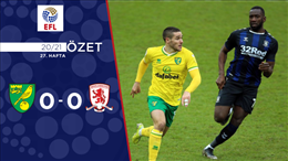 ÖZET | Norwich City 0-0 Middlesbrough