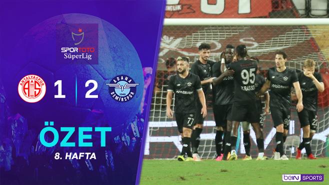 ÖZET   FTA Antalyaspor 1-2 Adana Demirspor