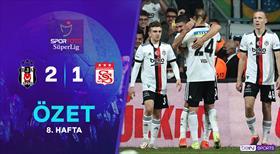 ÖZET   Beşiktaş 2-1 DG Sivasspor
