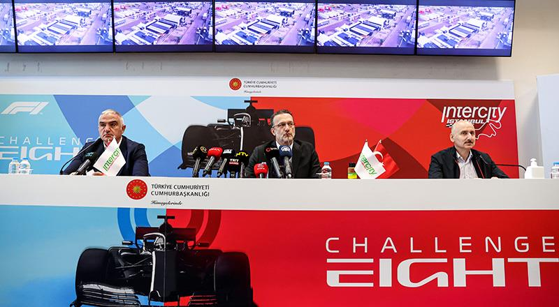 F1 basın toplantısı gerçekleştirildi