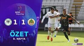 ÖZET | İH Konyaspor 1-1 A. Alanyaspor
