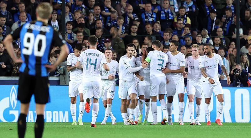 Manchester City vitesi 5'e taktı