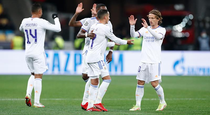 Real Madrid, Shakhtar'ı beşledi
