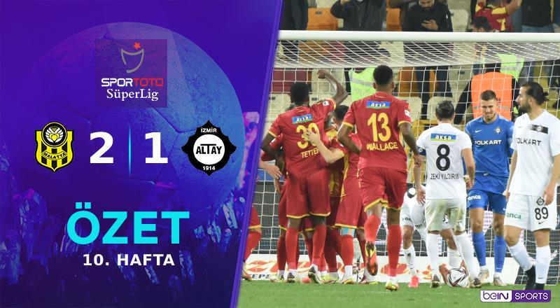 ÖZET | ÖK Y. Malatyaspor 2-1 Altay