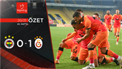 ÖZET | Fenerbahçe 0-1 Galatasaray