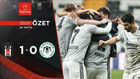 ÖZET | Beşiktaş 1-0 İH Konyaspor
