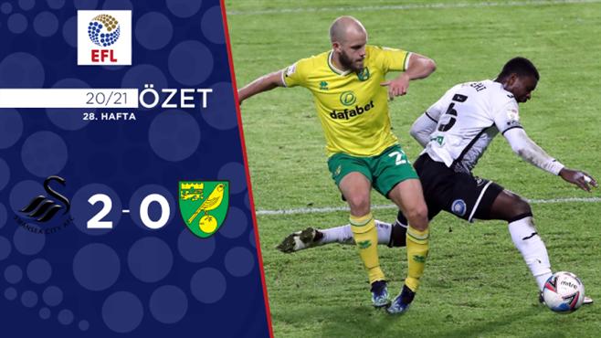 ÖZET | Swansea City 2-0 Norwich City
