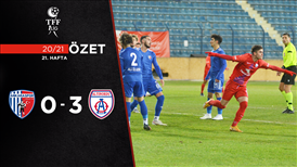 ÖZET   Ankaraspor 0-3 Altınordu