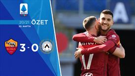 ÖZET   Roma 3-0 Udinese