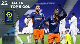 Ligue 1'de haftaya damga vuran 5 gol!