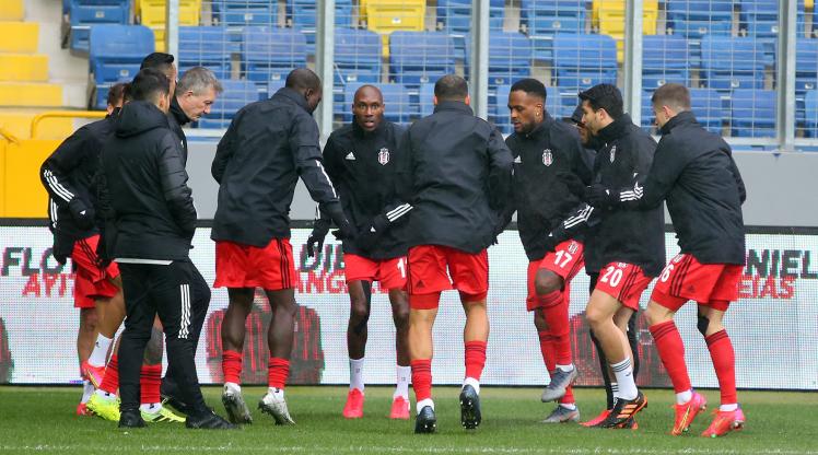 Beşiktaş'ta 3 günlük izin bitiyor