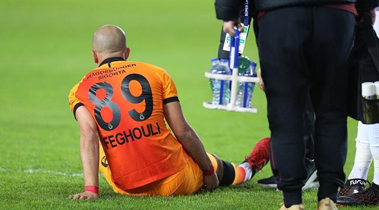 Feghouli takımdan ayrı çalıştı