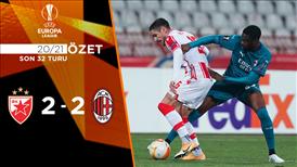 ÖZET | Kızılyıldız 2-2 Milan